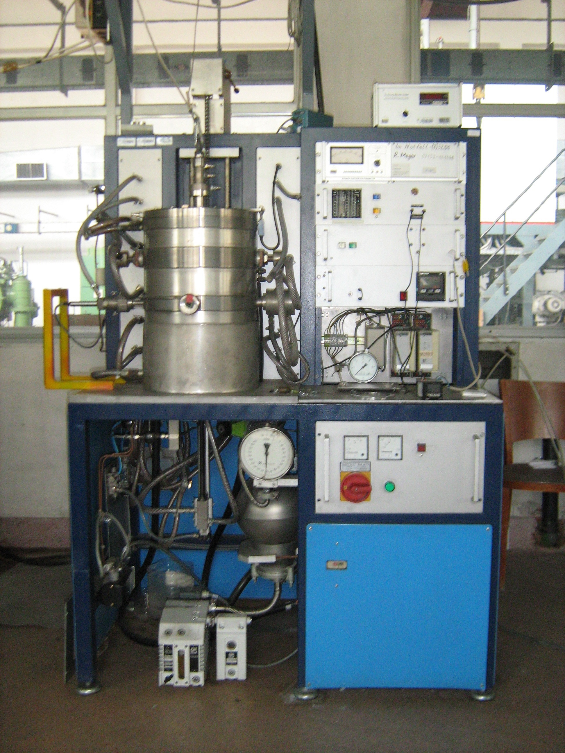 High-temperature vacuum furnace to 2200ºC, Gero HBO W