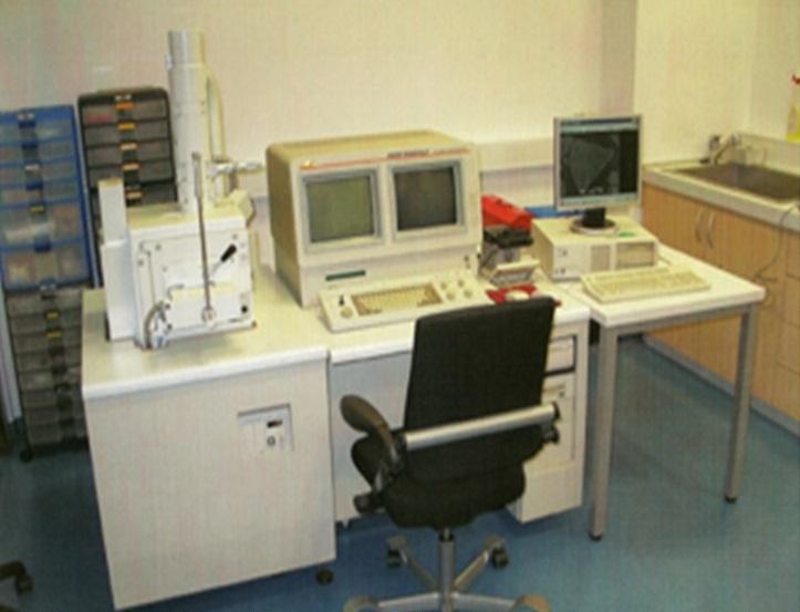 Scanning electron microscope (SEM) JEOL JSM 5800LV